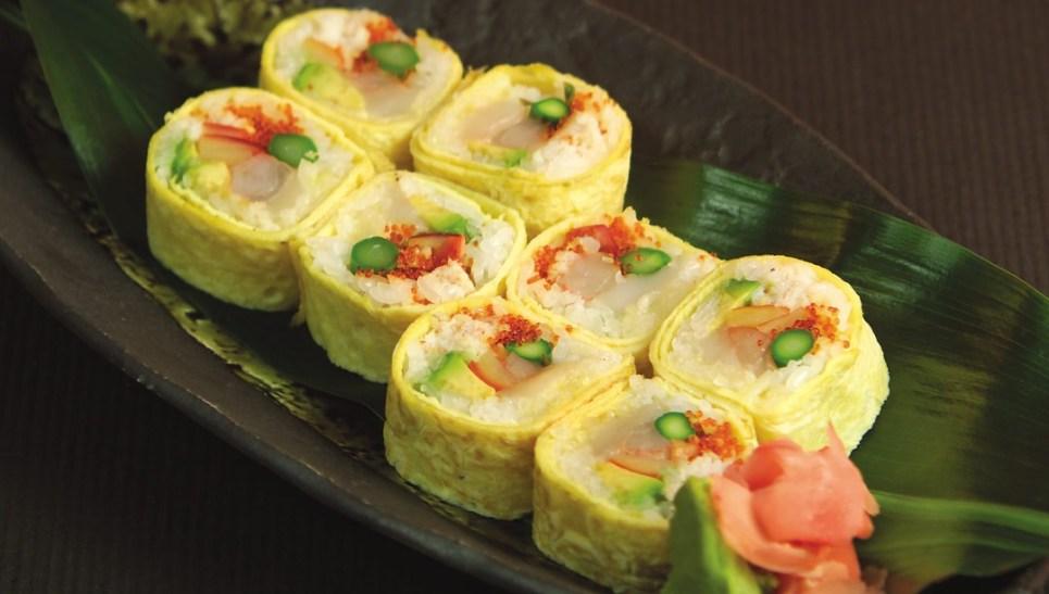 Ocean Jewel Roll by Chef Cho Venevongsa, Wasabi On Broadway
