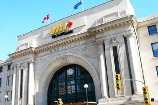 Via Rail Train Station