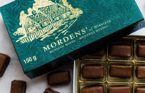 Mordens' Of Winnipeg Chocolates
