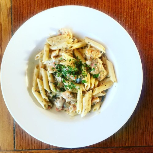 The Old Spaghetti Factory Penne Dish