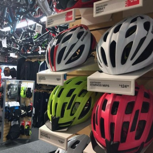 Bicycle Display at Alter Ego Sports Winnipeg
