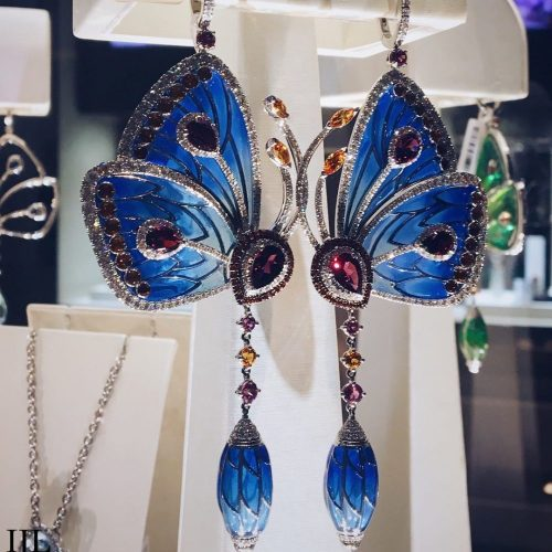 Butterfly Earrings from Independent Jewellers, Winnipeg