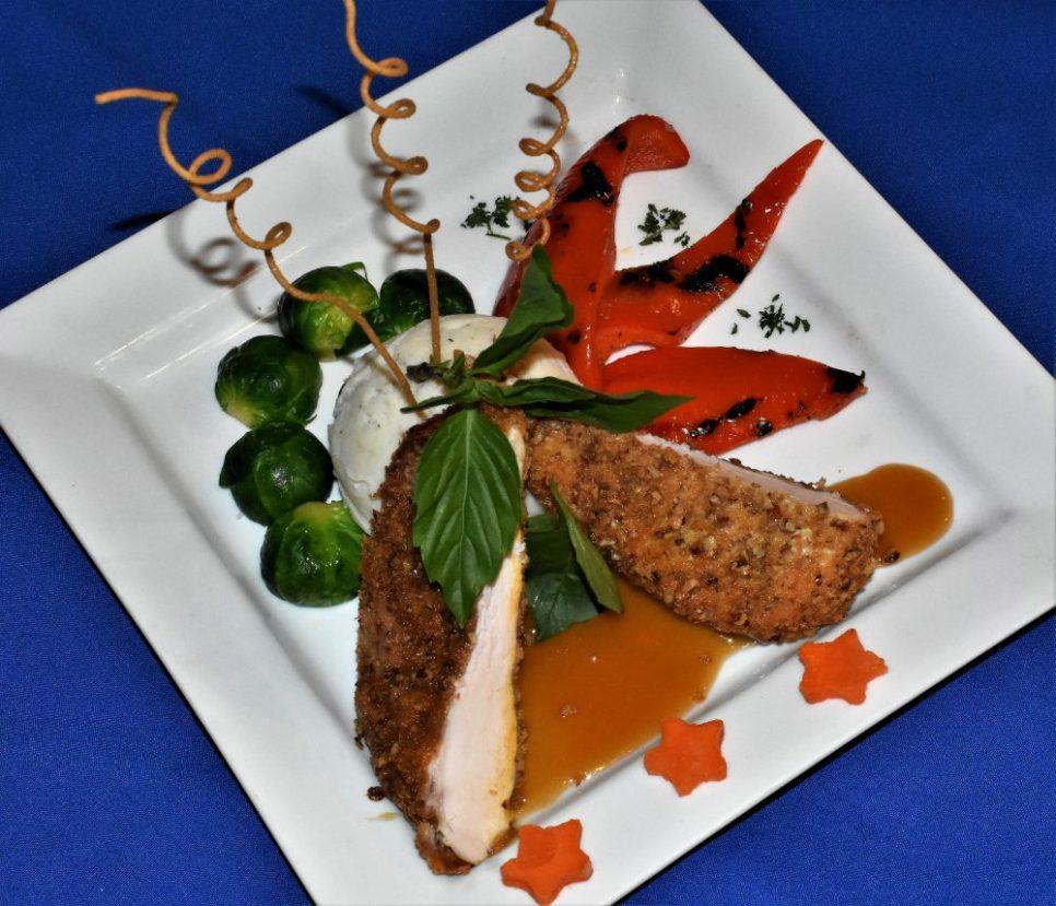 Chicken with maple cream