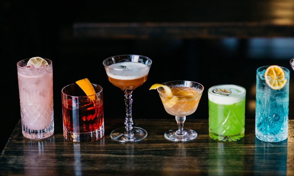 Cocktails from Patent 5 Distillery
