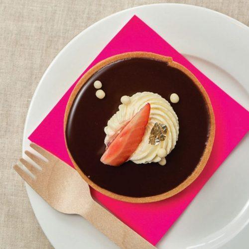 Chocolate Ganache Tart - Chef Alix Loiselle, La Belle Baguette