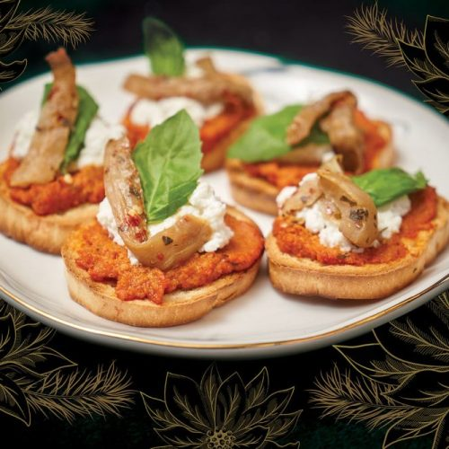 Eggplant Bruschetta by Chef Sean Smith