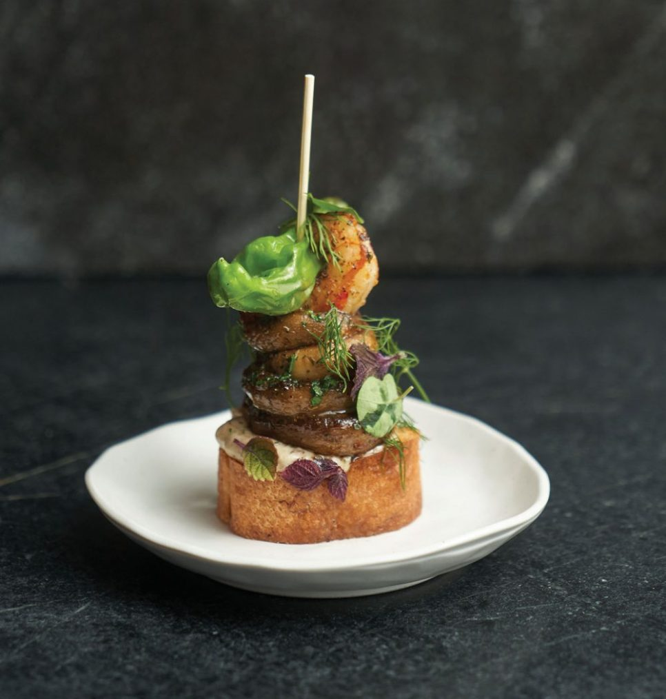 Mushroom Pintxo by Dustin Pajak of Close Co