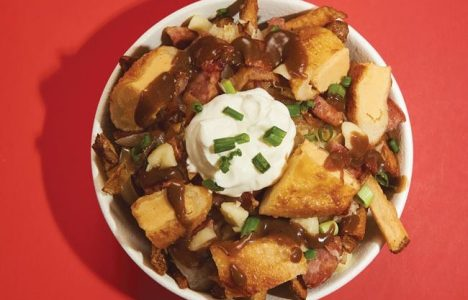 Perogy poutine The Oakwood