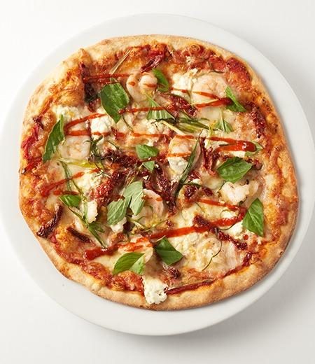 Spicy Prawn Pizza