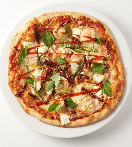 Spicy Prawn Pizza