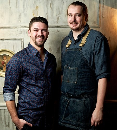 Chef Kurt Kolbe and Scott Redfern