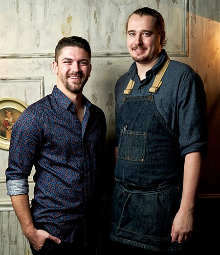 Chef Kurt Kolbe and Scott Redfern