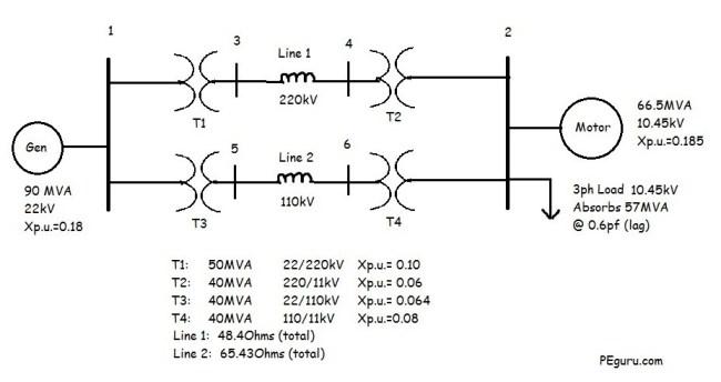 Power System Oneline - PEguru.com - Power Systems Engineering