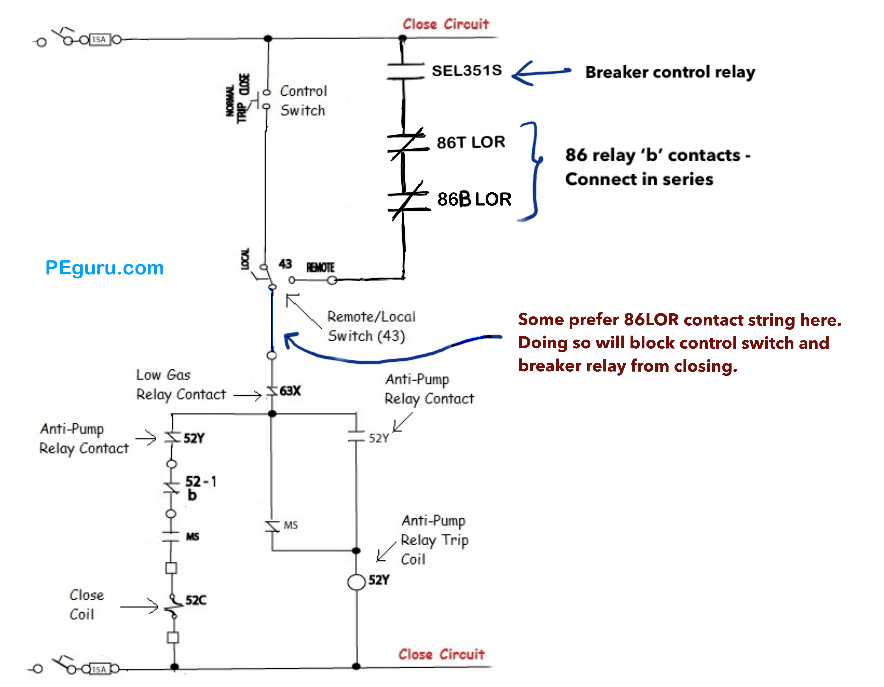 Power Circuit Breaker - Operation and Control Scheme - Power Systems on auxiliary fuel tank, auxiliary battery, auxiliary locks, auxiliary radiator, auxiliary horn, auxiliary contactor, auxiliary fuse box, auxiliary fuel pump,