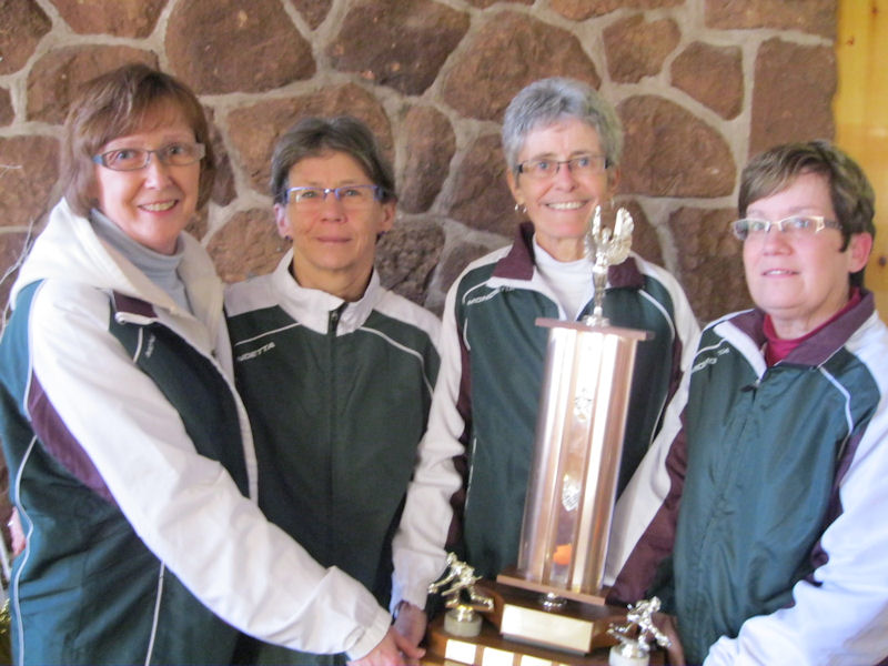 2011 Women's Masters champs