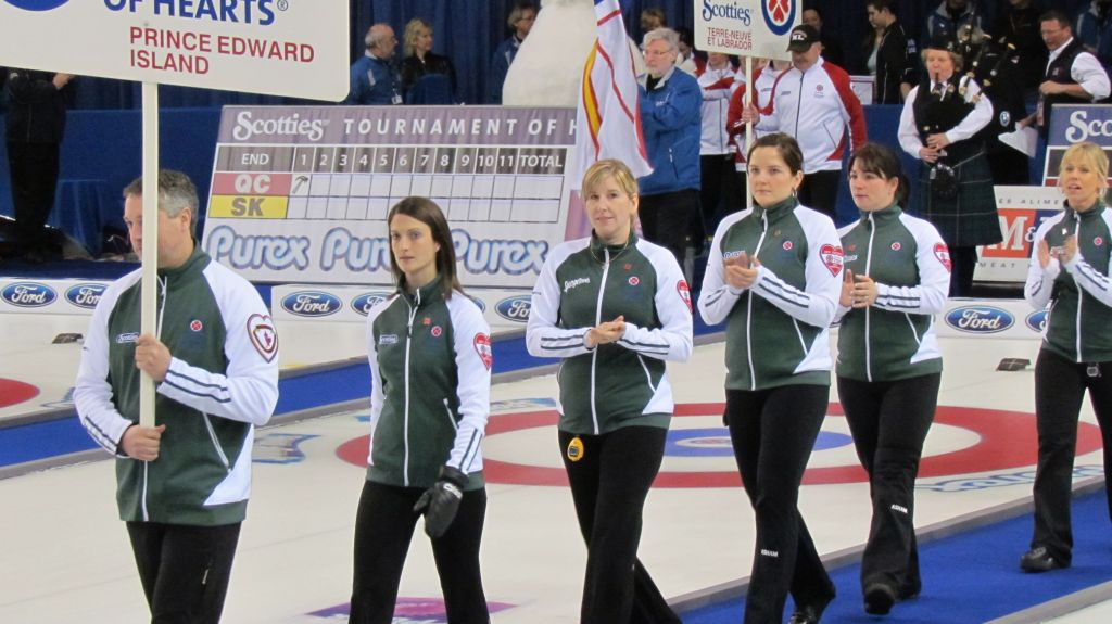 Birt rink at the Scotties