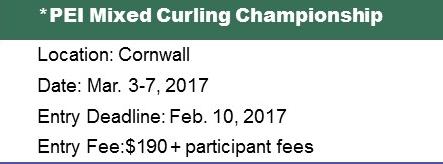 PEI Mixed (Fours) Ch'ship @ Cornwall Curling Club | Saint Catherines | Prince Edward Island | Canada