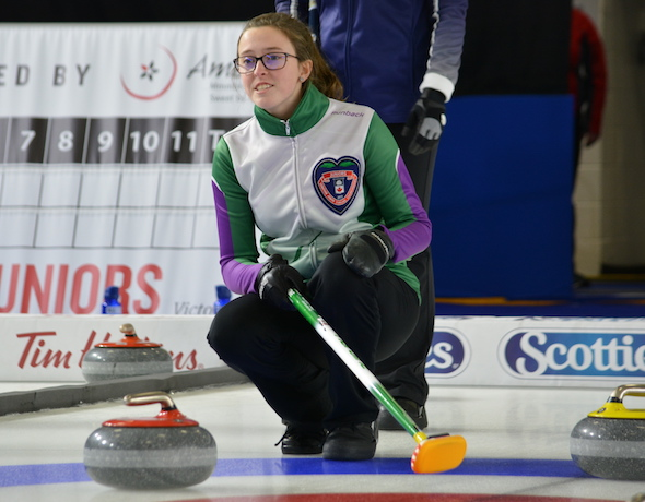 Team Lenentine still unbeaten at 4-0 at Canadian Juniors