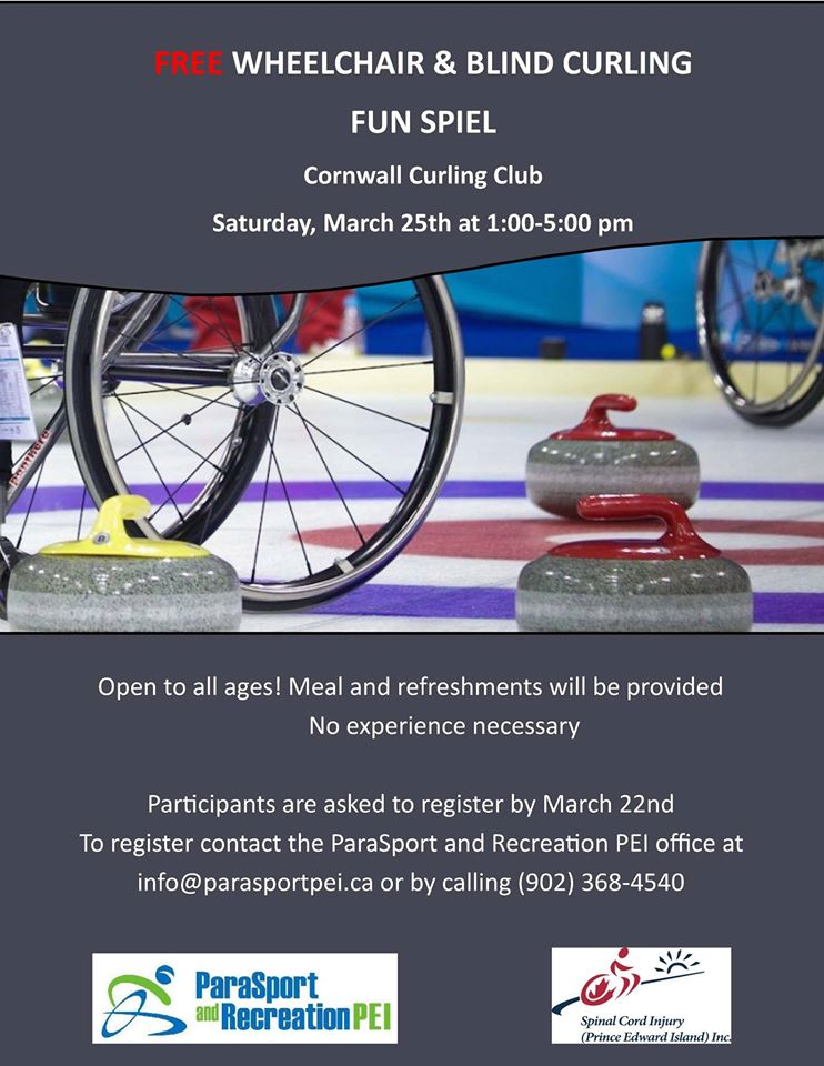 Free Funspiel for People with Disabilities @ Cornwall Curling Club