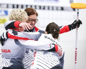 Colleen Jones rink wins Gold, Bryan Cochrane team with PEI native Ian MacAulay wins Silver at World Seniors (Curling Canada)