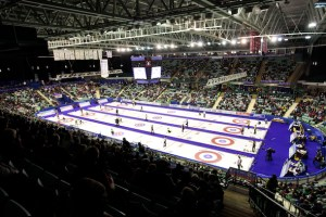 Field set for Home Hardware Road to the Roar Pre-Trials in Summerside (Curling Canada)