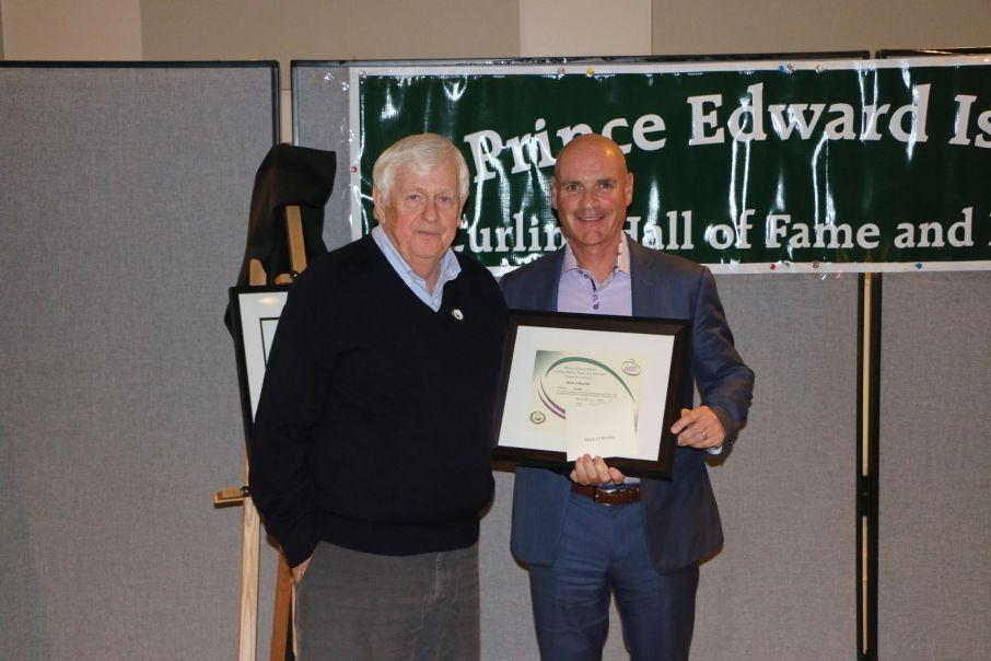 Mark O'Rourke, with Al Ledgerwood