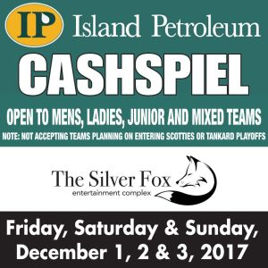 Opening draws set for Island Petroleum Cashspiel this weekend at the Fox