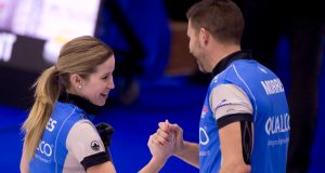 Lawes/Morris one win away from Mixed Doubles Trials gold after semifinal win over Peterman/Gallant (Curling Canada)