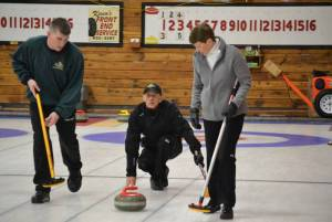 First draw in the books at PEI provincial mixed curling (Journal)