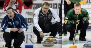 This year's Tim Hortons Brier has a solid mix of vets and rookies. Get to know teams NS, PEI, and Yukon (Curling Canada)
