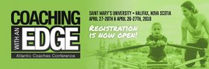 Atlantic Coaching Conference in April- discounted rates end March 9 (hotel) and 15 (conference)