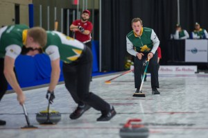 UNB, with PEI's Alex Gallant, in Bronze Medal game today at U Sports Ch'ships (Curling Canada)