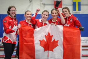 PEI's Lauren Lenentine, with Team Kaitlyn Jones, on Sportsnet in Grand Slam event this afternoon