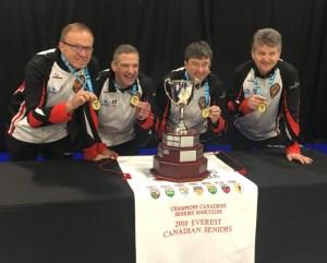 Ontario men, with 2 players originally from PEI, Sask. women win Everest Canadian Seniors titles