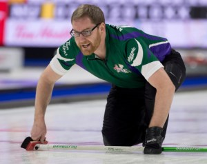 Team Canada on top of Pool A, Sask. beats PEI (1-3) in an extra end in Pool B, at Tim Hortons Brier (Curling Canada)