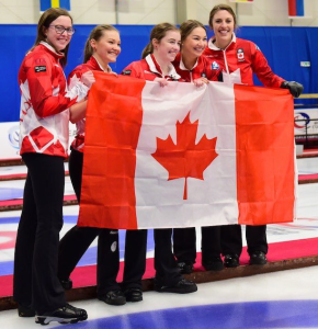 Team Canada, with PEI's Lenentine, wins World Junior Curling Gold