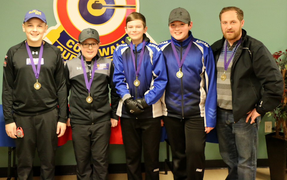 Cruz Pineau rink wins PEI Under 13 Ch'ship A division, Ella Lenentine team wins B, Sydney Carver squad takes C