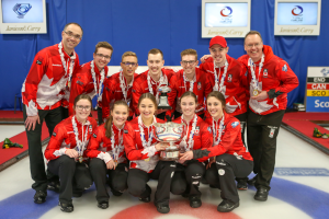 Double gold for Canada at World Junior Curling Championships (Curling Canada)