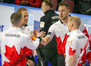 Canada opens World Men's Championship on winning note (Curling Canada)