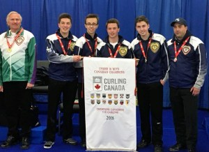 NS sweeps gold at Canadian U18 Ch'ships, Lauren Ferguson's coach wins Gold, she takes the Silver in Mixed Doubles (Curling Canada)