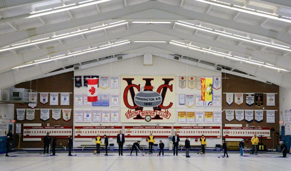 Steele Cup Cashspiel in NB in Oct. @ Capital Winter Club
