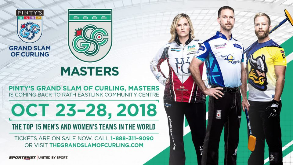 Pinty's Grand Slam of Curling, Masters @ Rath Eastlink Community Centre  | Truro | Nova Scotia | Canada
