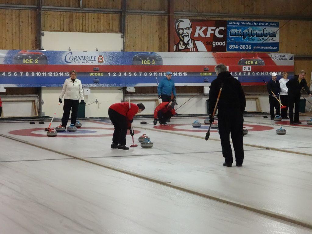 Mixed Doubles Cashspiel @ Cornwall Curling Club   Saint Catherines   Prince Edward Island   Canada