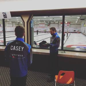 Watch Charley Thomas rink with Adam Casey taking on Kevin Koe team on CBC Livestream right now