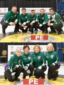 PEI Teams finish out of the playoffs at the Travelers (Curl PEI/Curling Canada)