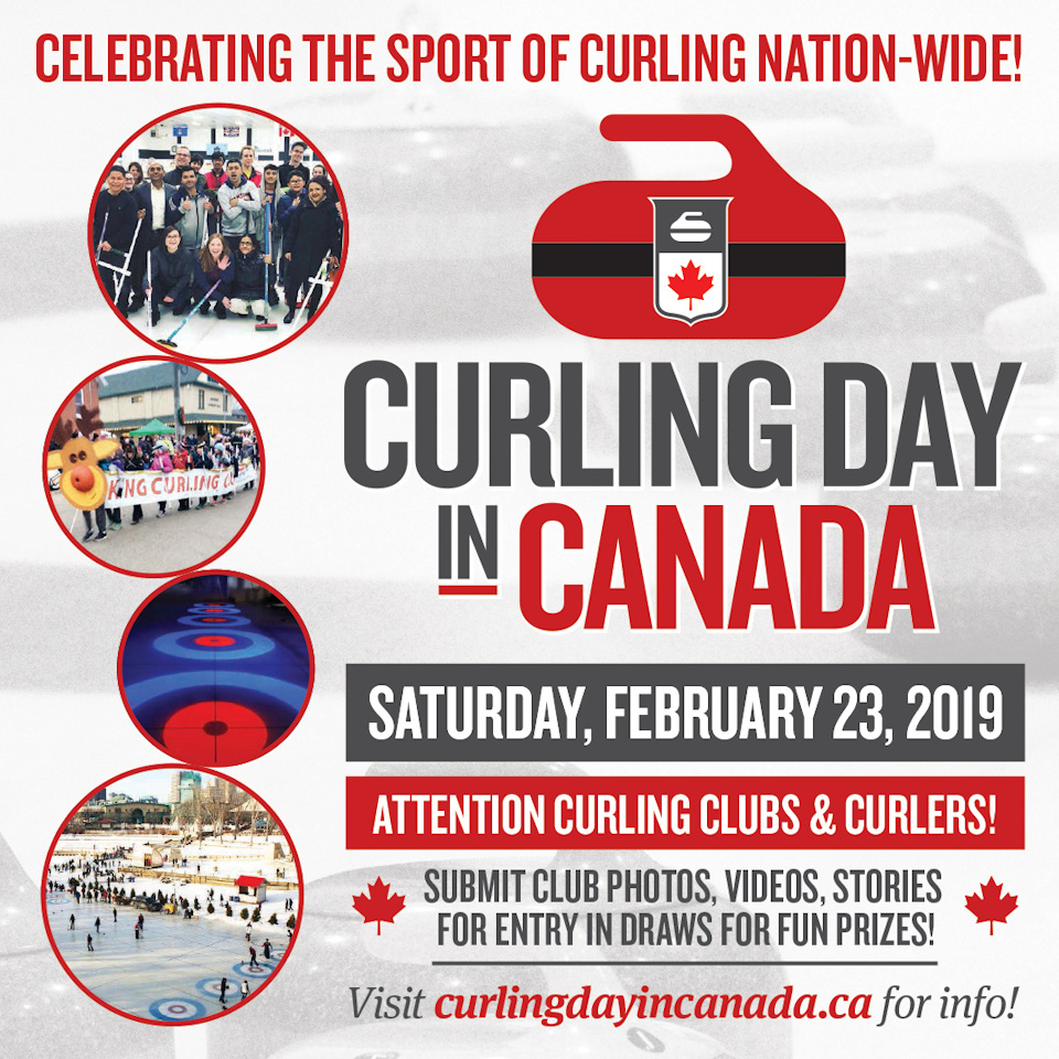 Curling Day in Canada, celebrating the sport of curling nationwide