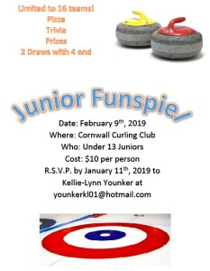 Cornwall hosting U13 Funspiel on Feb. 9