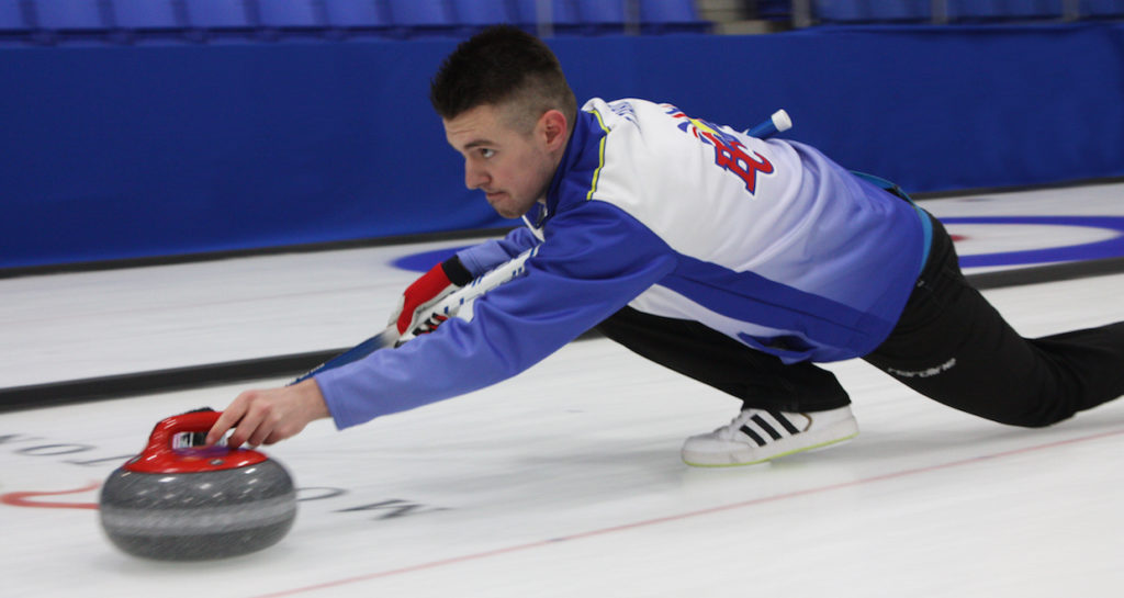 New Holland Canadian Juniors underway in Prince Albert - PEI's Ferguson loses opener to NB (Curling Canada)