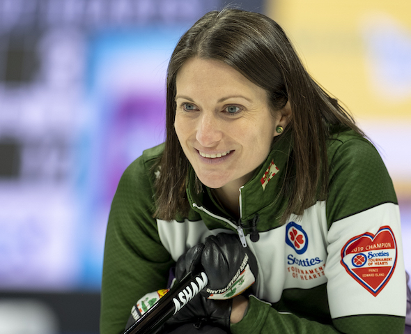 Three teams tied atop Scotties standings at 7-2, Birt 6-3 after beating Alberta, heading into final day of Ch'ship Pool day (Curling Canada)