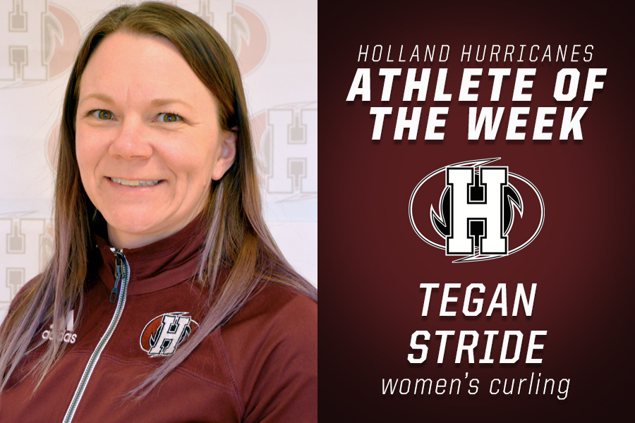 Curler Tegan Stride named Holland College Athlete of the Week (Holland College)